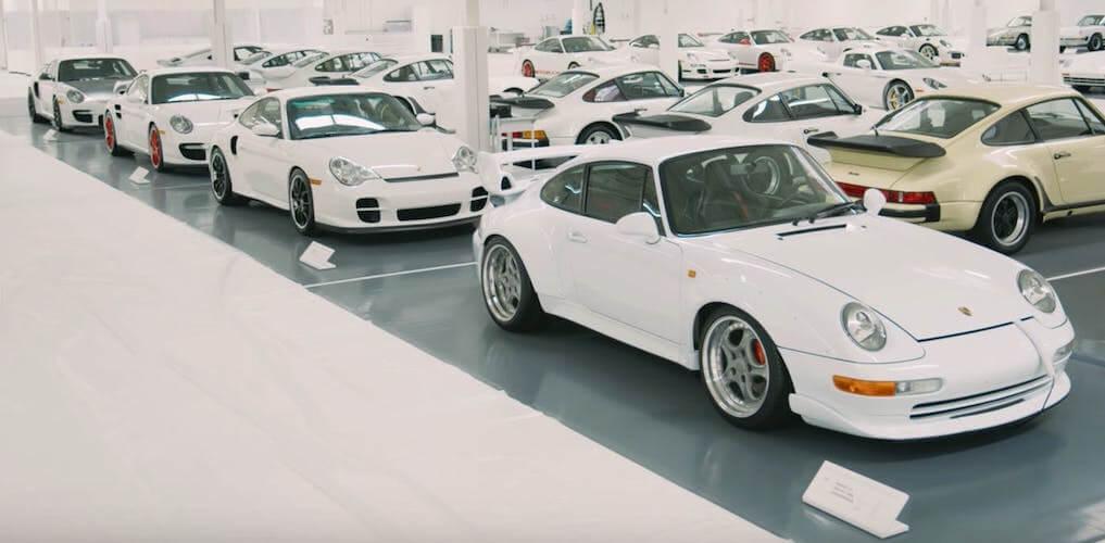 White Porsche Collection