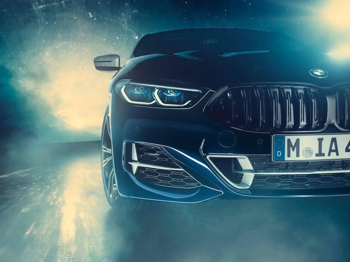 BMW 850i Night Sky