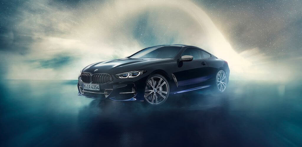 BMW 850i Night Sky