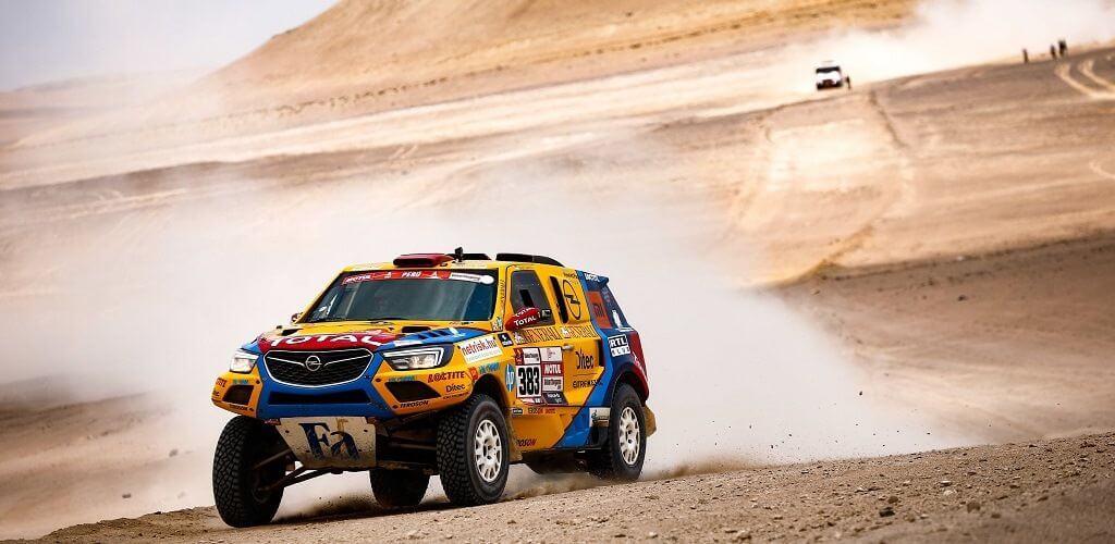 Dakar 2019 - Szalayék a 20. helyen