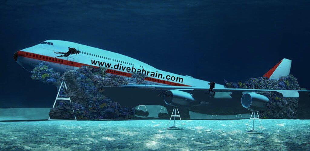 Dive Bahrain Boeing 747