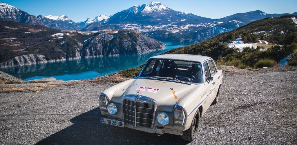Project Retro Rally: Mercedes-Benz Classic