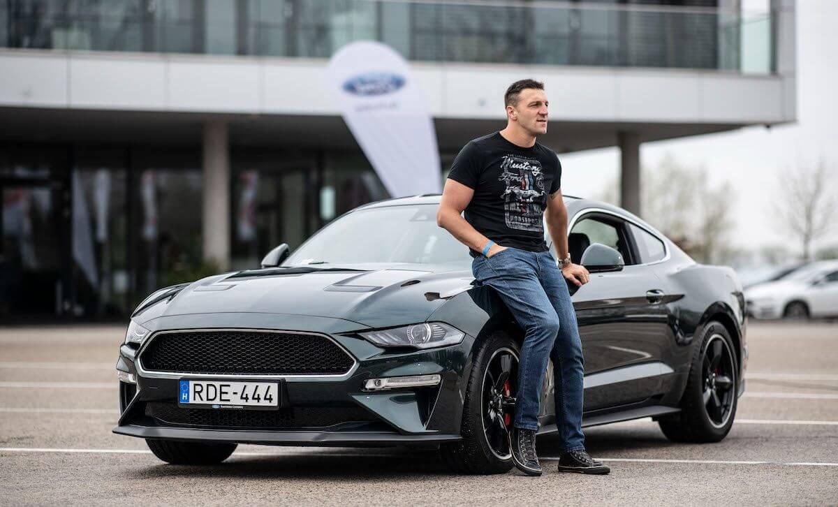Kiss Gergely Ford Mustang Bullitt