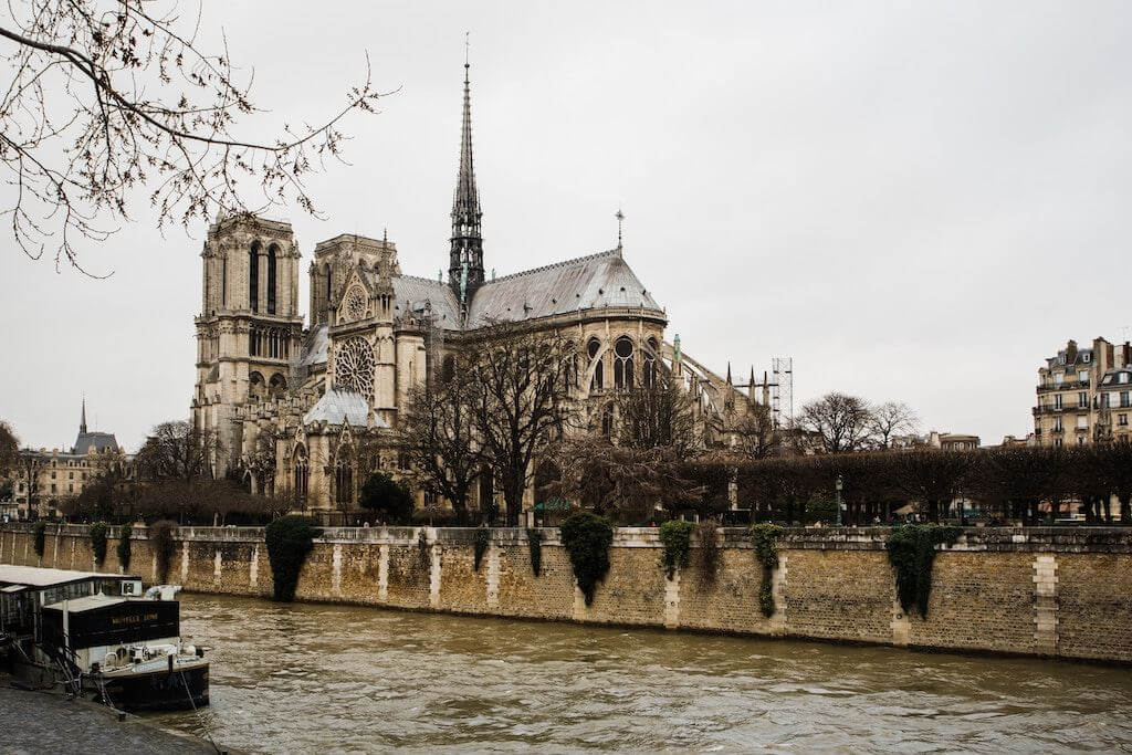 Notre Dame - Párizs - rekonstrukció