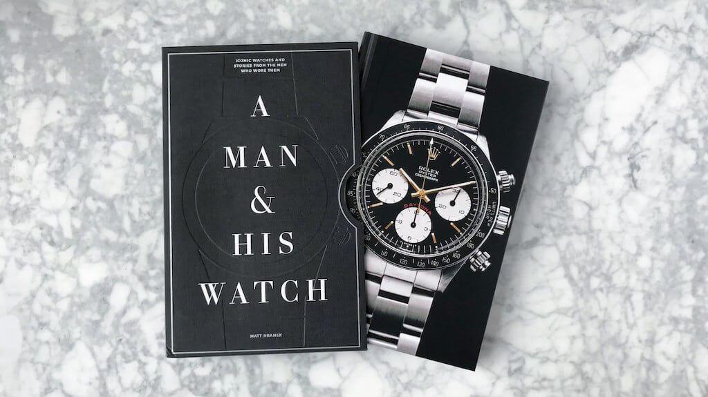 A man and his watch - könyv - órarajongó