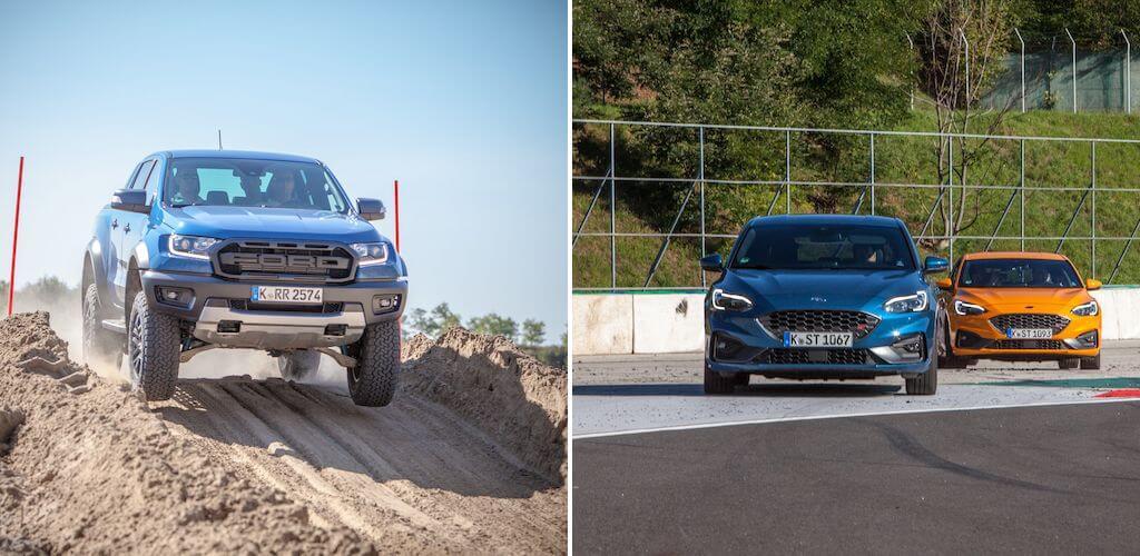 Ford Ranger Raptor - Ford Focus ST