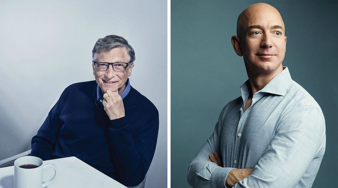 Bill Gates - Jeff Bezos