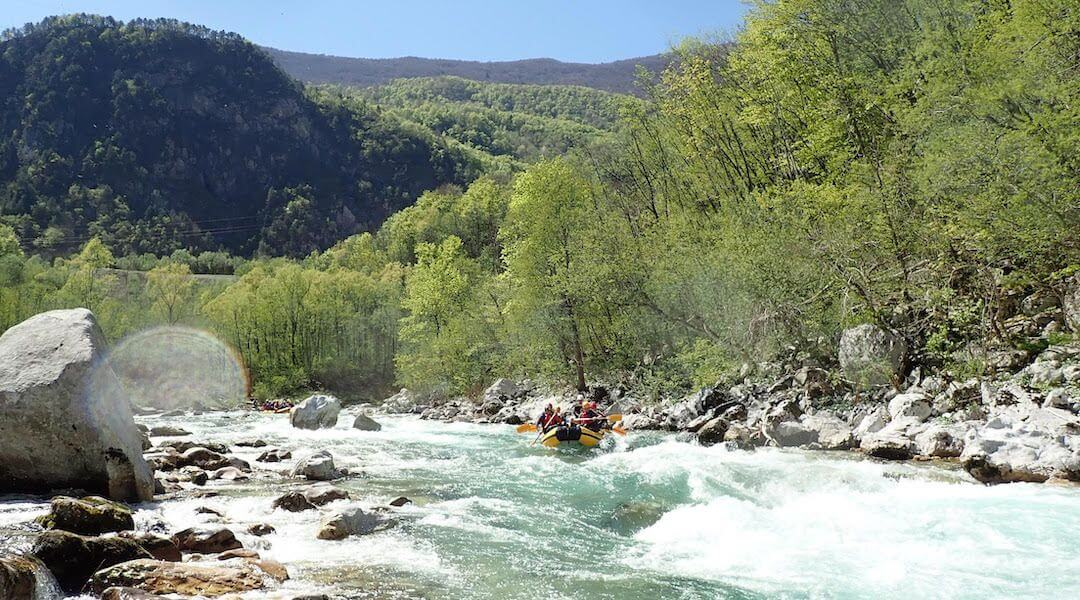 Bovec - rafting - túra