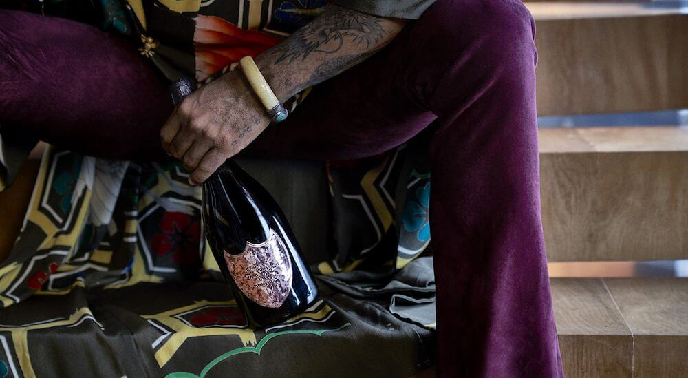 Dom Pérignon - Lenny Kravitz - champagne
