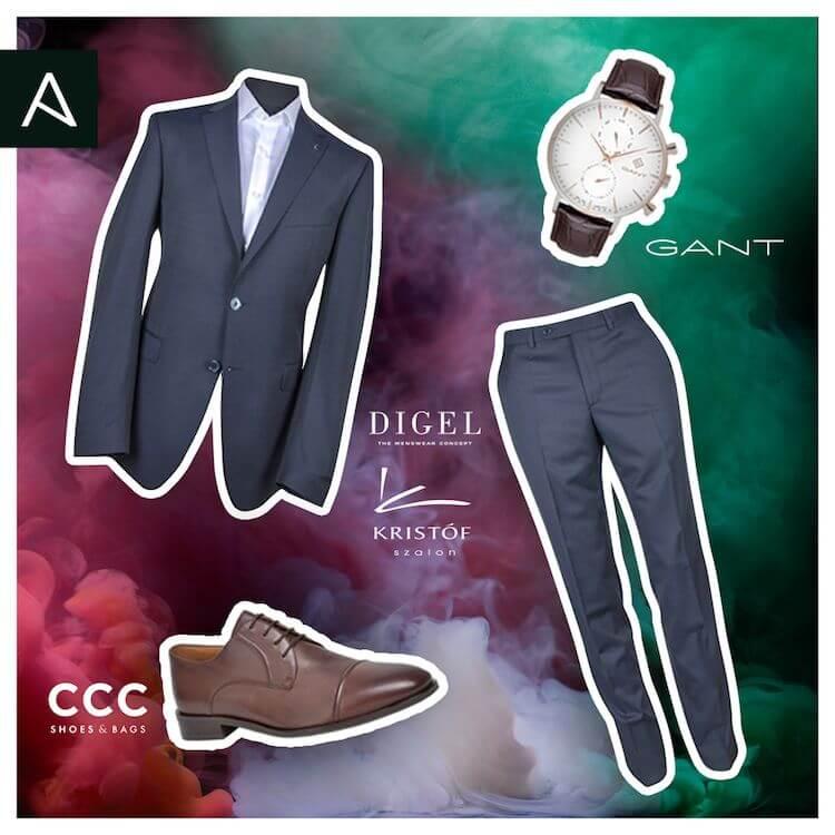 férfi divat 2019 - AM - elegáns