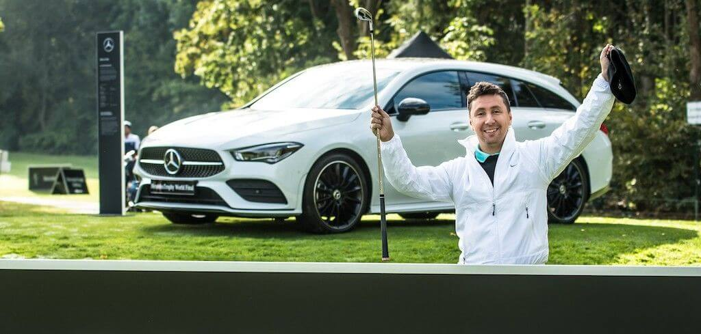 hole-in-one - Mercedes - golf