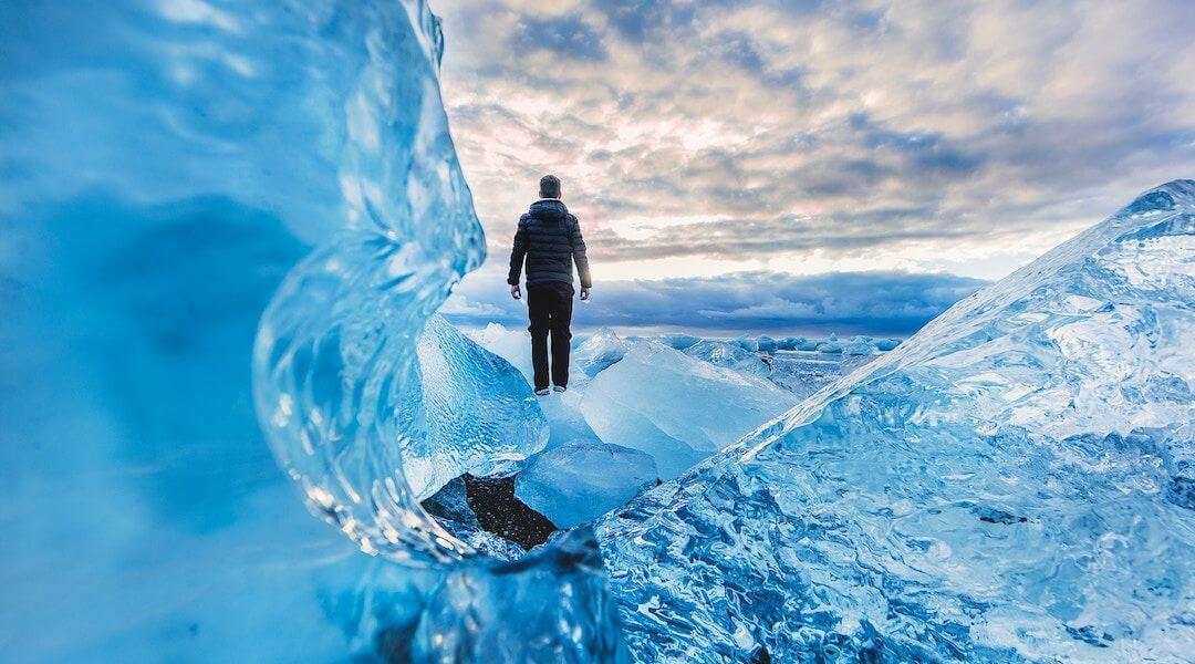 siker - jéghegy