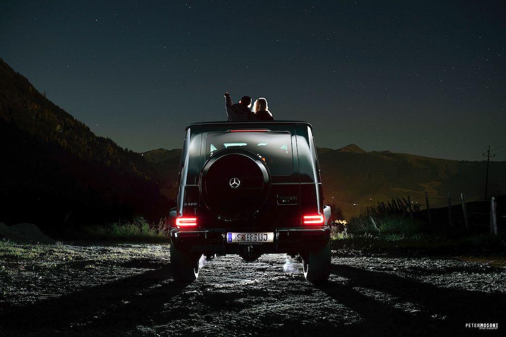 Mercedes G500 - Mosoni Péter