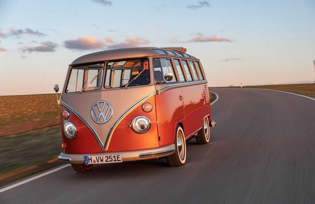 elektromos Volkswagen Samba