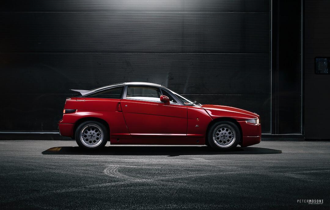 Alfa Romeo SZ - Mosoni Péter