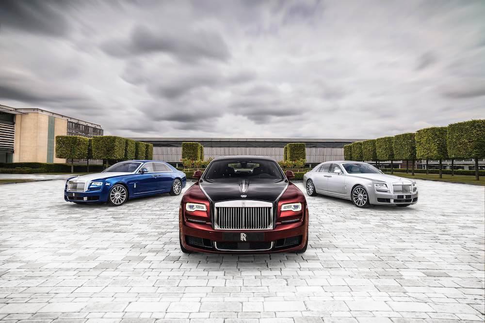 Rolls-Royce - luxus