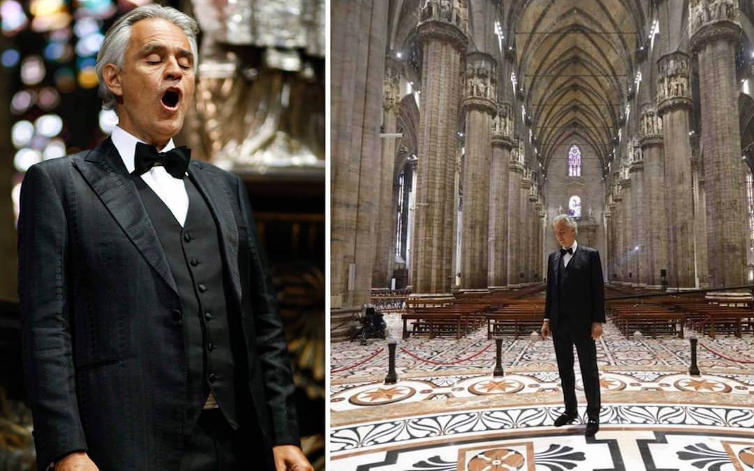 Andrea Bocelli - Milánó - koncert