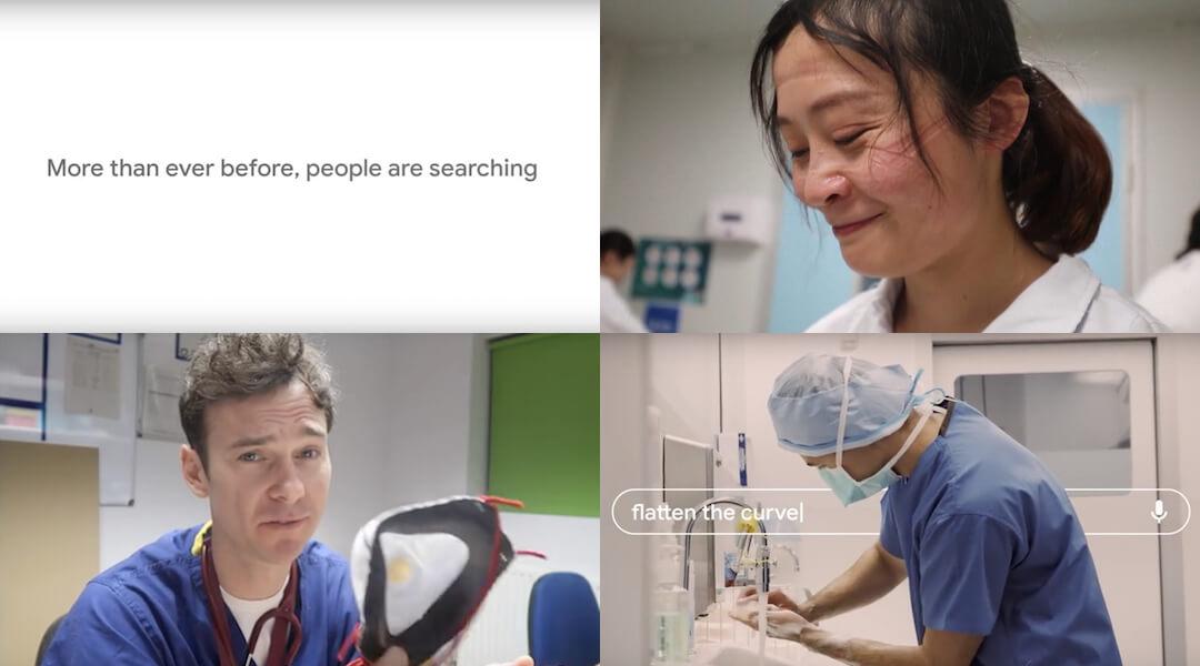 Google - koronavírus - videó