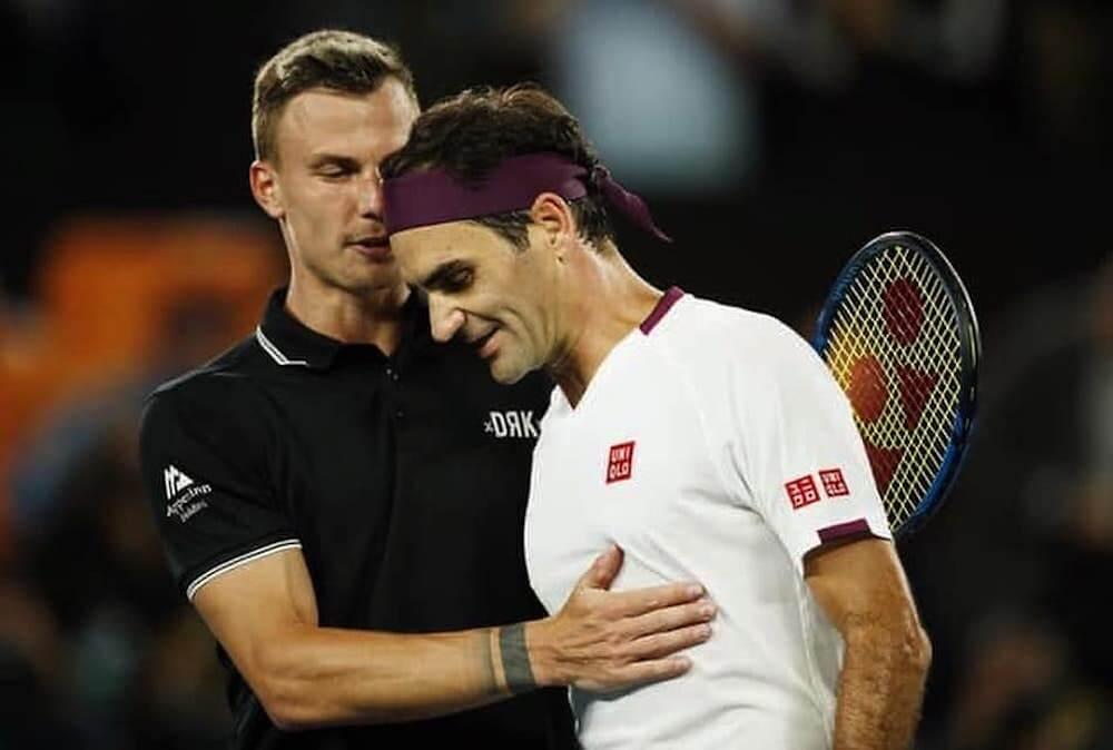 Fucsovics Marci - Roger Federer -interjú