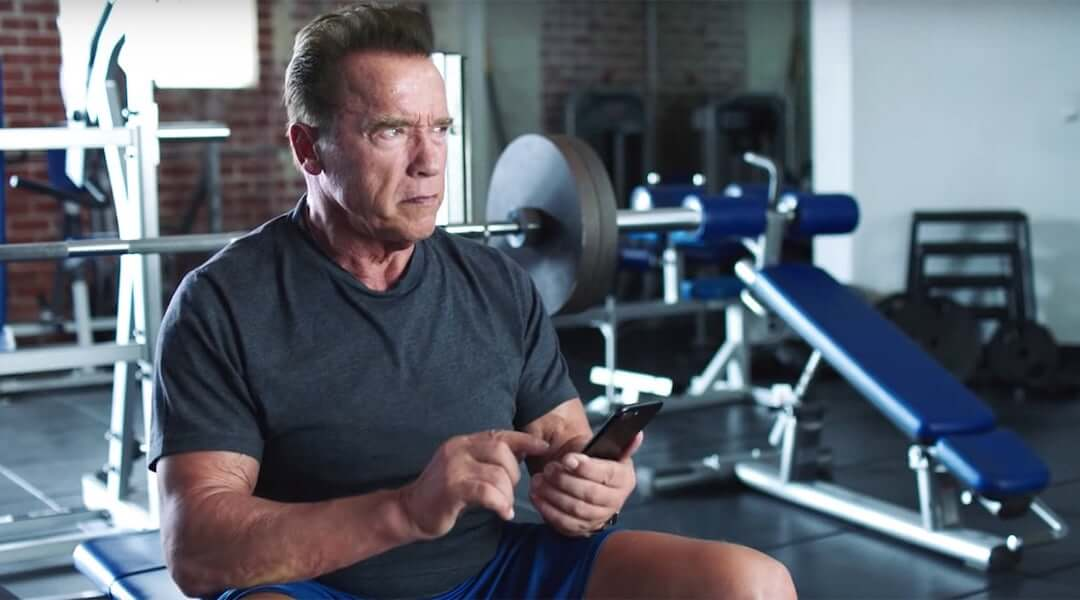 Arnold Schwarzenegger - social media