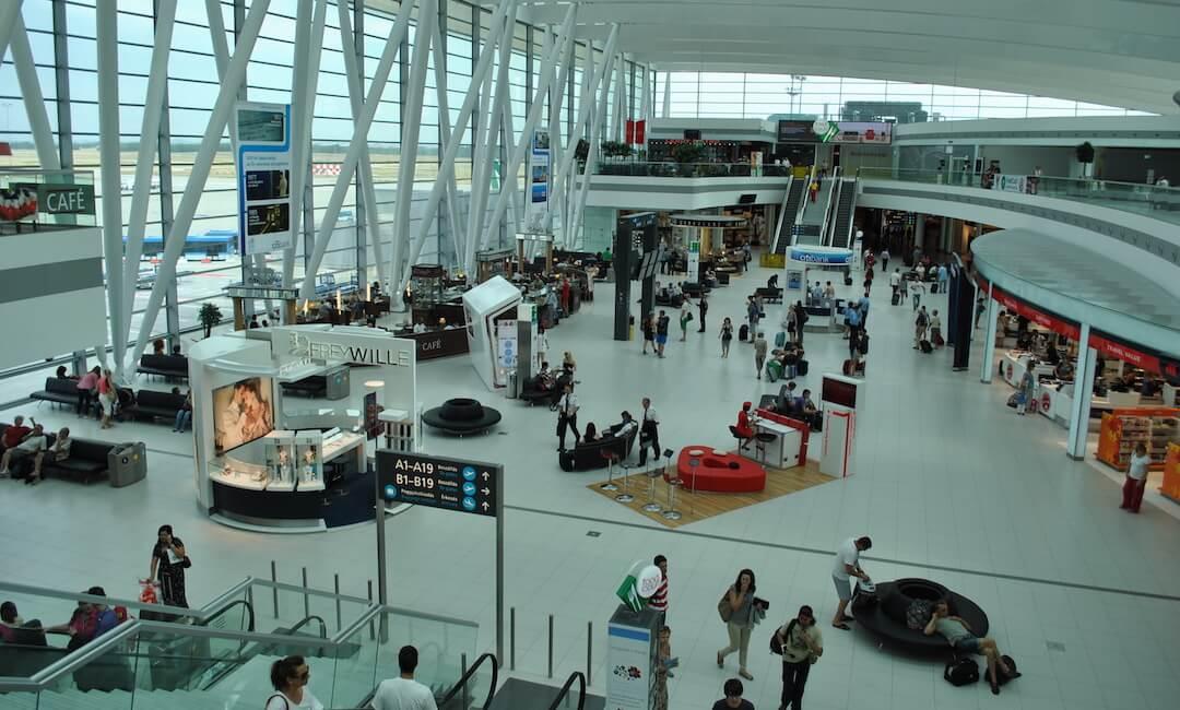 Budapest airport - koronavírus után