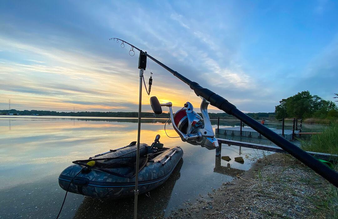Lupa - horgászat