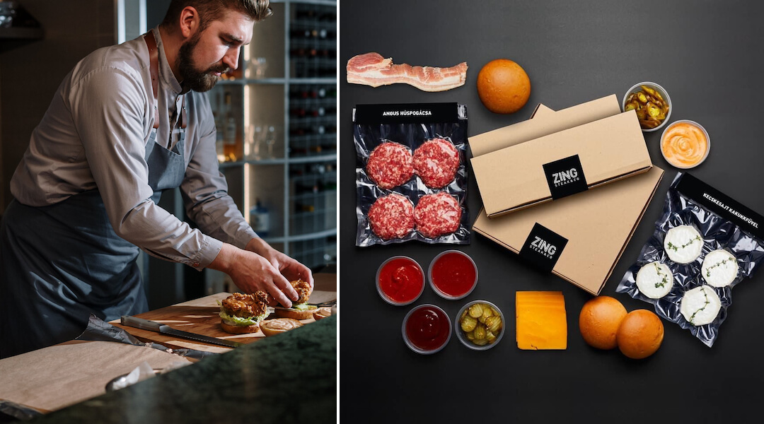 Zing Burger - hamburger otthon