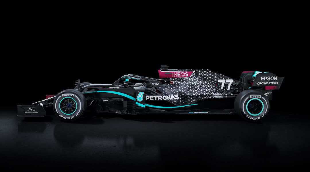 Mercedes - fekete - 2020