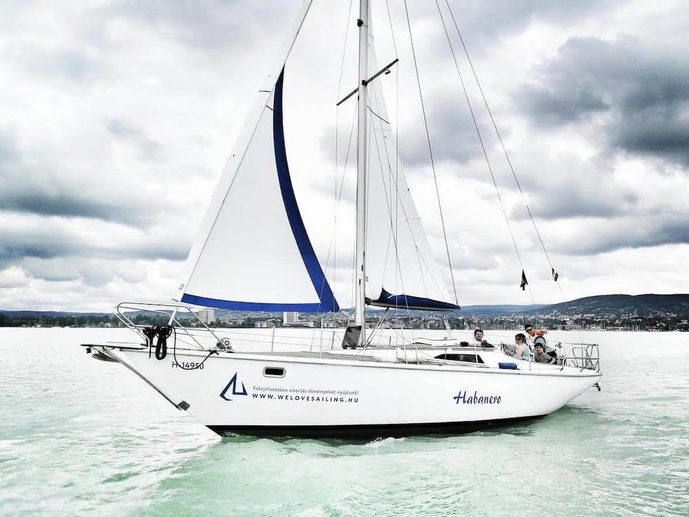 Balaton - vitorlázás - we love sailing