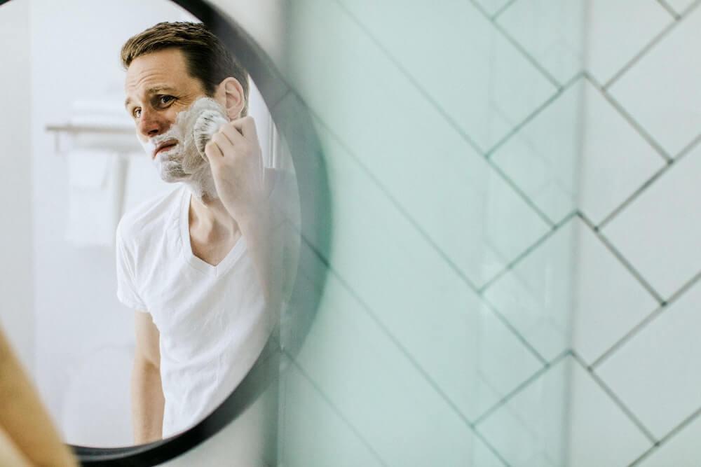 biztonsági borotva - pamacs - borotválkozás