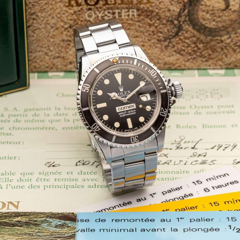 Rolex - Comex - aukció - férfi karóra
