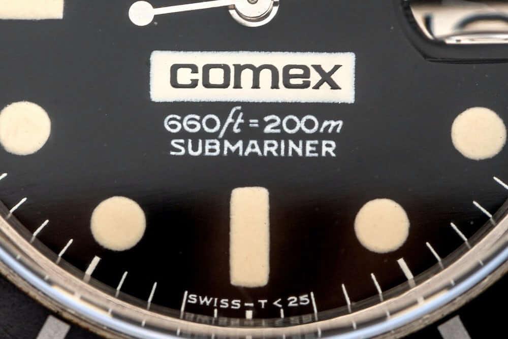 Rolex - Comex - férfi karóra - aukció