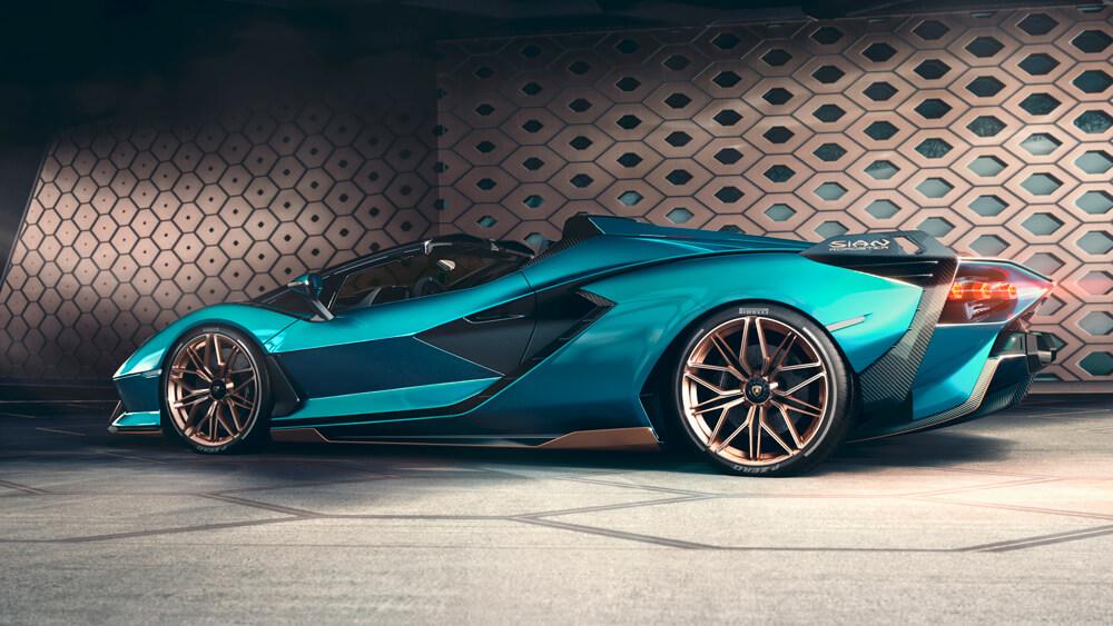 Lamborghini - Sian Roadster végsebesség