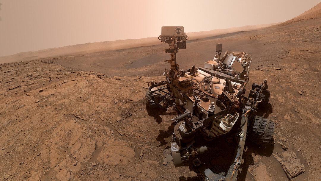 Mars - űripar - 2020