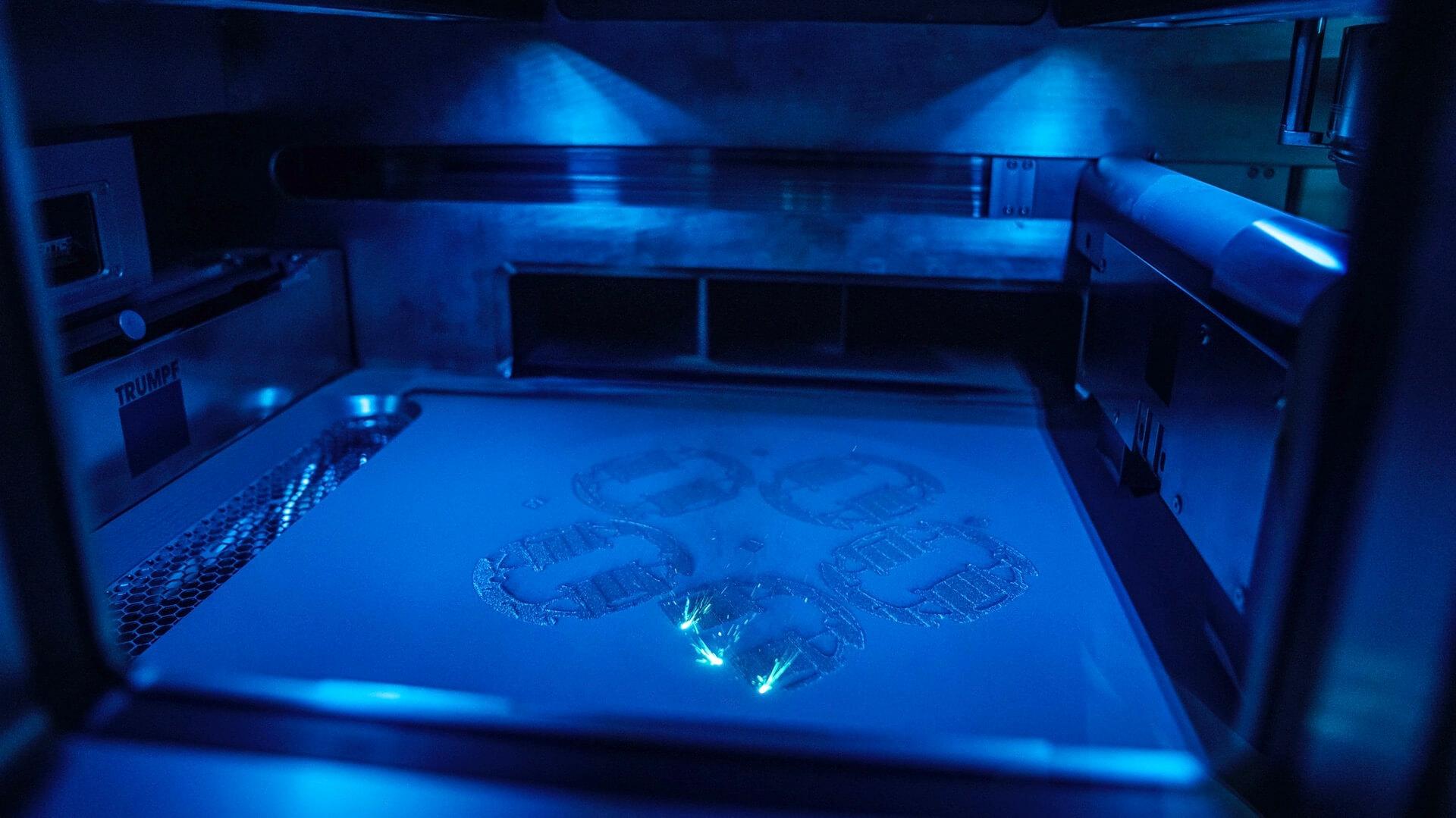 Porsche 3D nyomtatott dugattyú