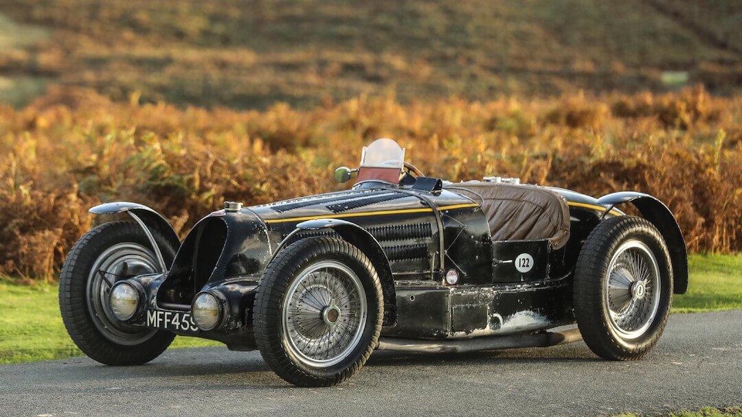 1934 Bugatti Type 59 aukció