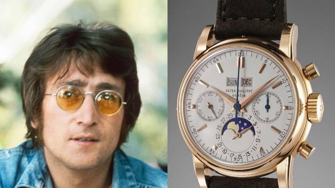 John Lennon - Patek Philippe