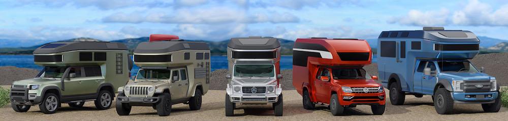 Land Rover Defender - lakóautó