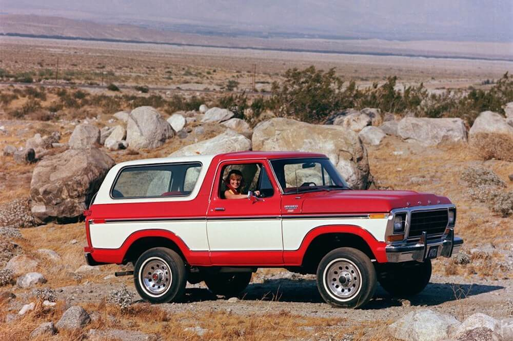 Ford Bronco történet - 1978