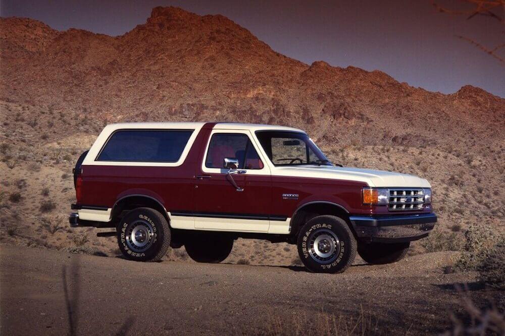 Ford Bronco történet 1988