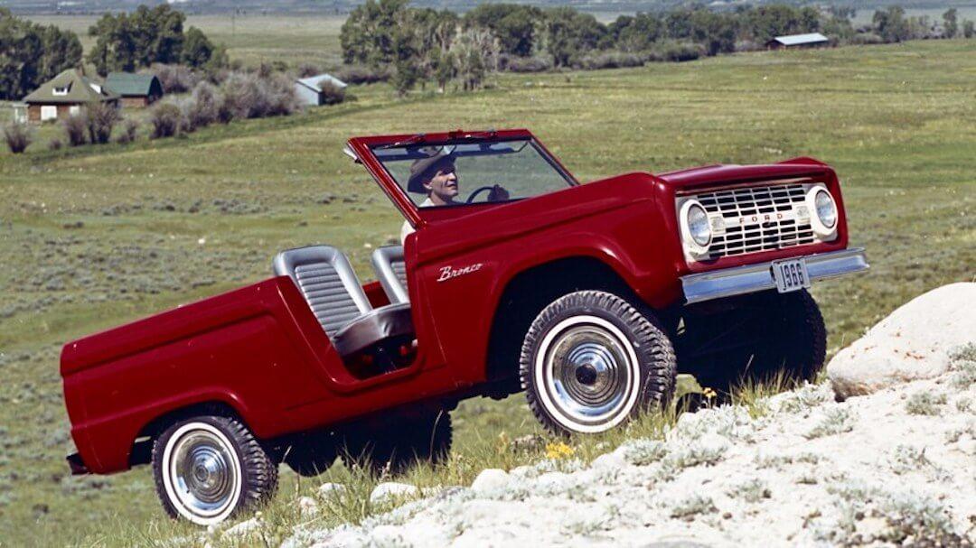 Ford Bronco történet