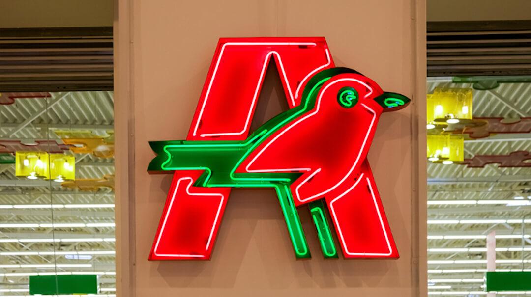 Auchan kontaktmentes házhozszállítás