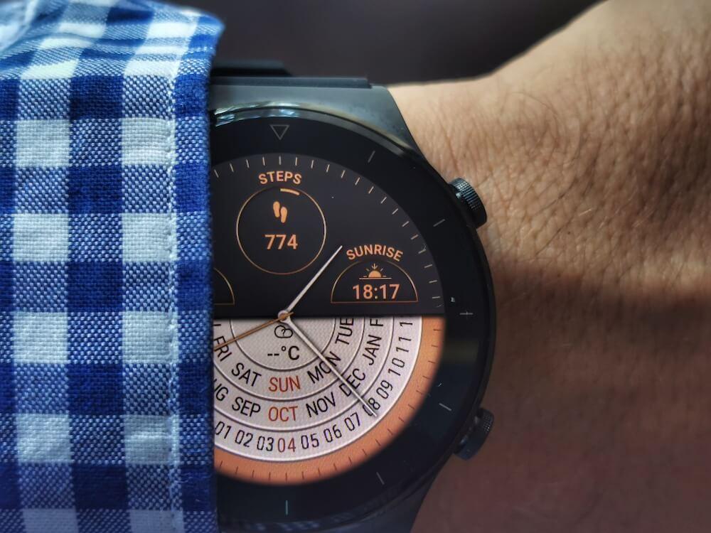 Huawei Watch Gt2 - kijelző