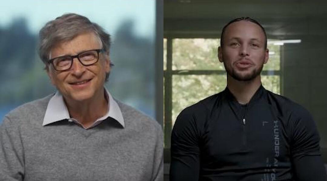 Bill Gates - Steph Curry