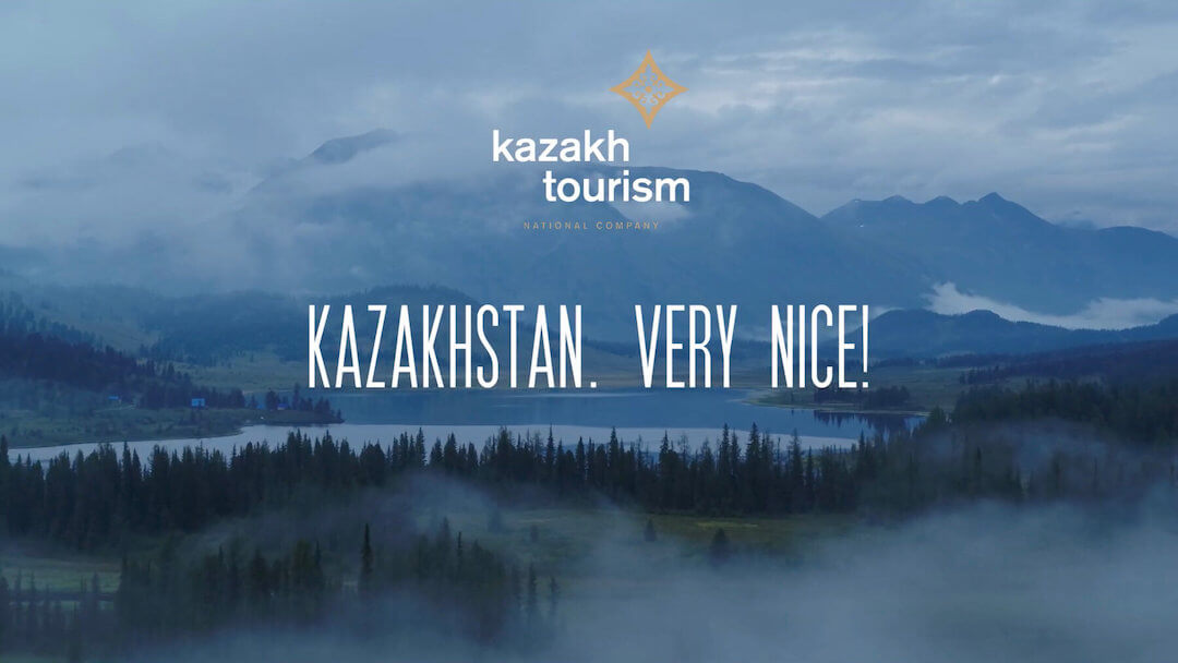 Kazakhstan. Very nice. Borat.