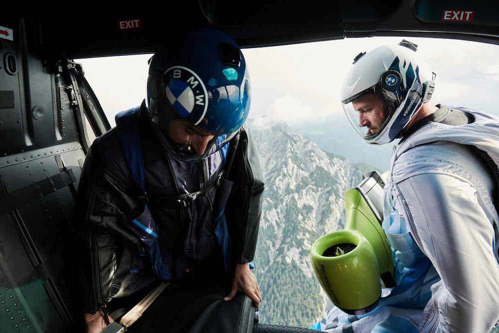 BMW i - elektromibilitás - repülés