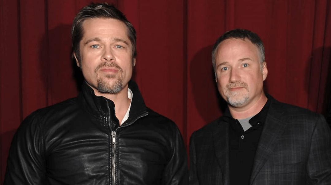 Brad Pitt és David Fincher