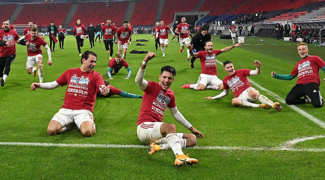 Magyar válogatott - labdarúgás - 2020