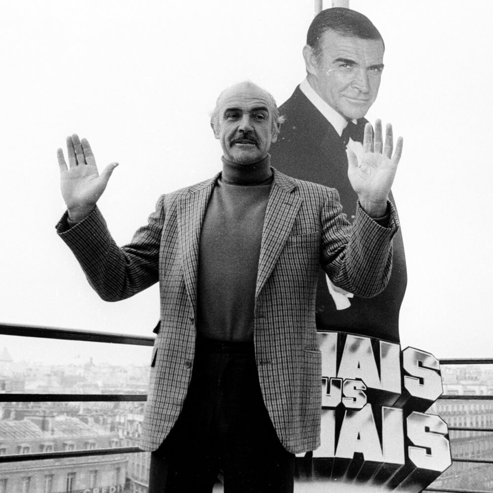 Sean Connery - garbó - zakó