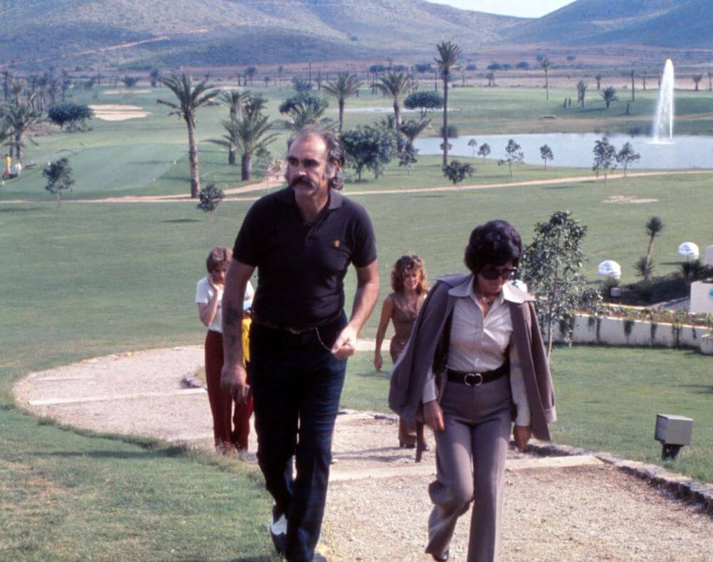 Sean Connery - golf